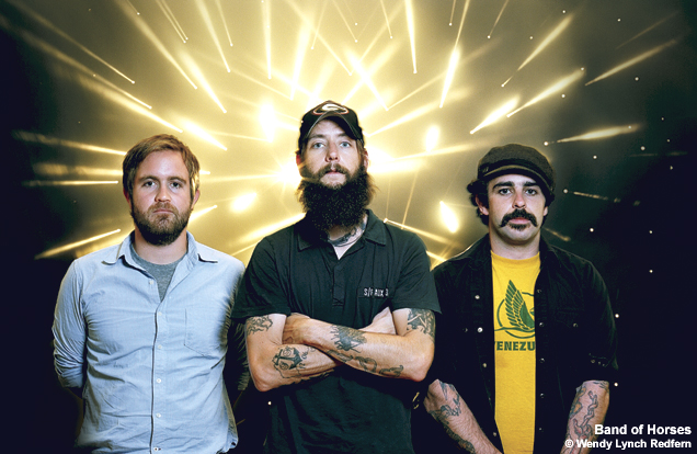 Band of Horses Anounce Tour with Pearl Jam