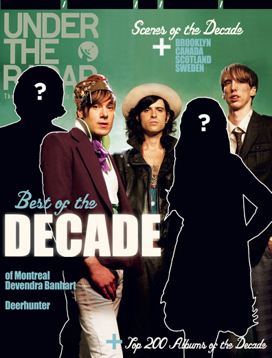 Who's on Under the Radar's Best of the Decade Cover? Deerhunter's Bradford Cox is.