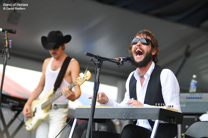 Photos from New Orleans Jazz & Heritage Festival by David Redfern: Band of Horses and more