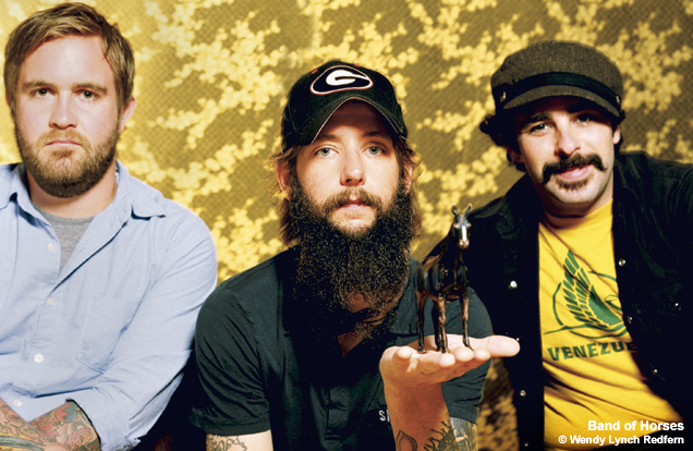 """Band of Horses Show Off Video, """"NW Apt"""""""