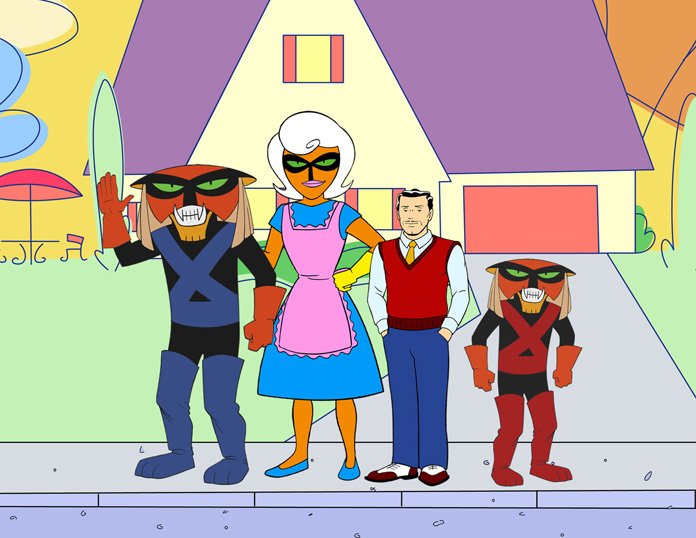 """Andy Merrill on """"The Brak Show,"""" Being a Space Cat, and the Weirdest Singing Voice Ever"""