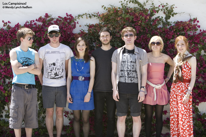 """Video of Los Campesinos! Performing """"Romance is Boring"""" on Carson Daily"""