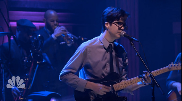 Watch Car Seat Headrest Perform Drunk Drivers Killer Whales With The Roots On Fallon