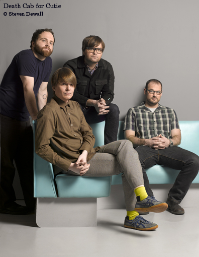Death Cab for Cutie Write New Song for Soundtrack to Twilight's sequel, New Moon