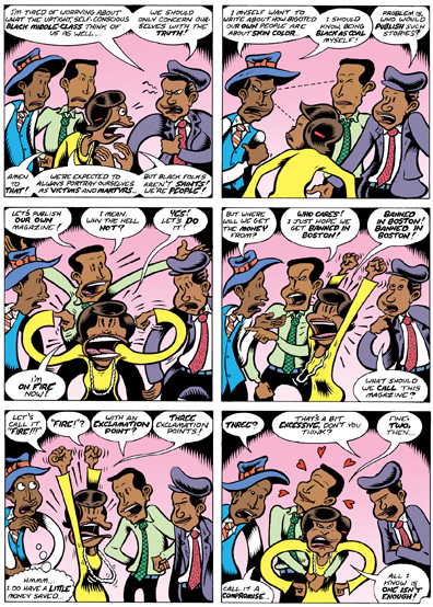 "Peter Bagge on ""Fire!! The Zora Neale Hurston Story"""