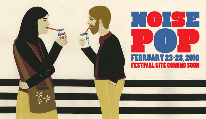 The Magnetic Fields, Rogue Wave, Atlas Sound, Four Tet to Play Noise Pop