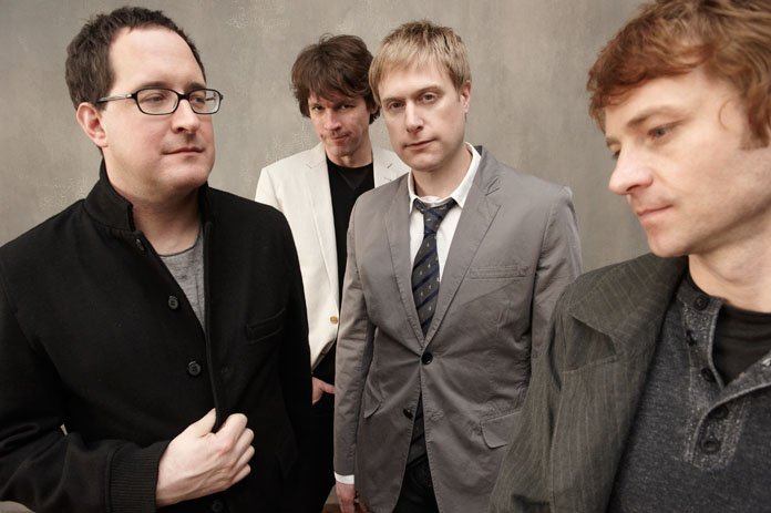 """Video of The Hold Steady performing """"The Weekenders"""" on Letterman"""