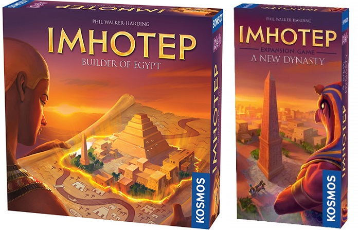 PLAYlist 40: Imhotep & A New Dynasty expansion