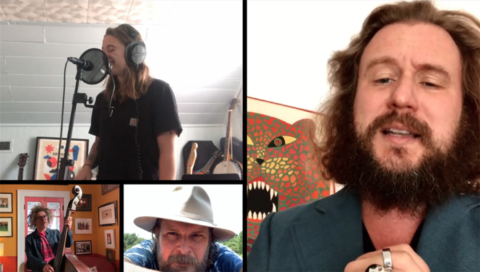 """Watch Jim James, Julien Baker, and The Decemberists Cover """"What the World Needs Now Is Love"""""""