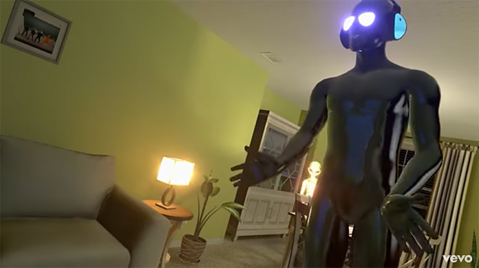 Watch Weird Aliens Dance In The Video For New Pond Song