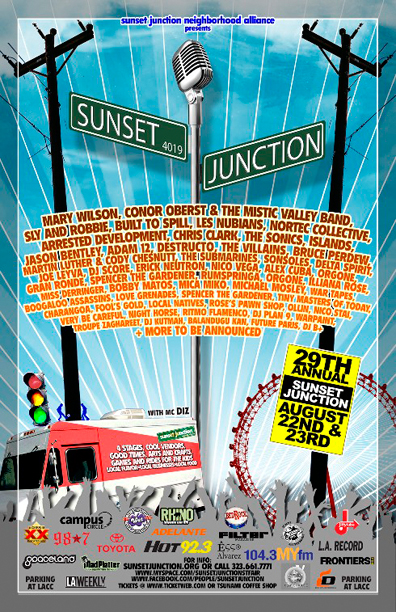 Enter to Win Tickets to Sunset Junction