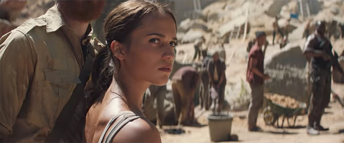 Watch Alicia Vikander As Lara Croft In The First Trailer For The