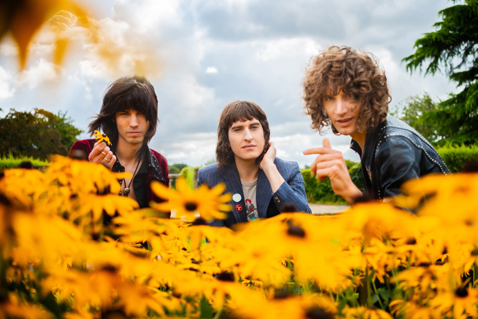 "Temples on ""Hot Motion"""