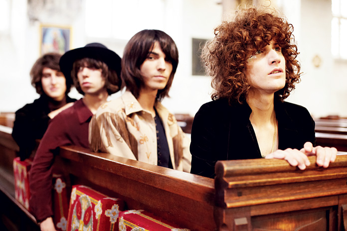 Temples - James Bagshaw on Playing Their First Hometown Show, '60s Production, and Their Album Cover Here Come the Suns Under the Radar