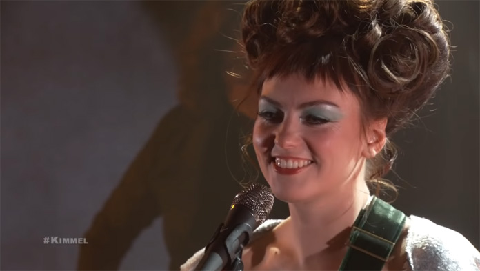 """Watch Angel Olsen Perform """"Summer"""" and """"Chance"""" on """"Jimmy Kimmel Live!"""""""