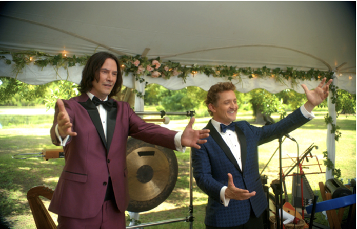 Keanu Reeves and Alex Winter Excellently Detail Bill & Ted's Latest Adventure
