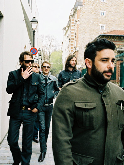 Band of Horses Release Making of Video for New Album