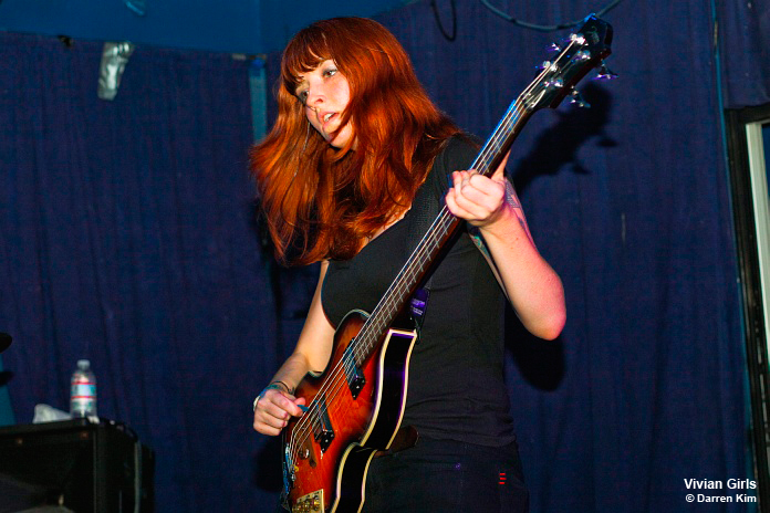 Photos from the Vivian Girls show at The Echo