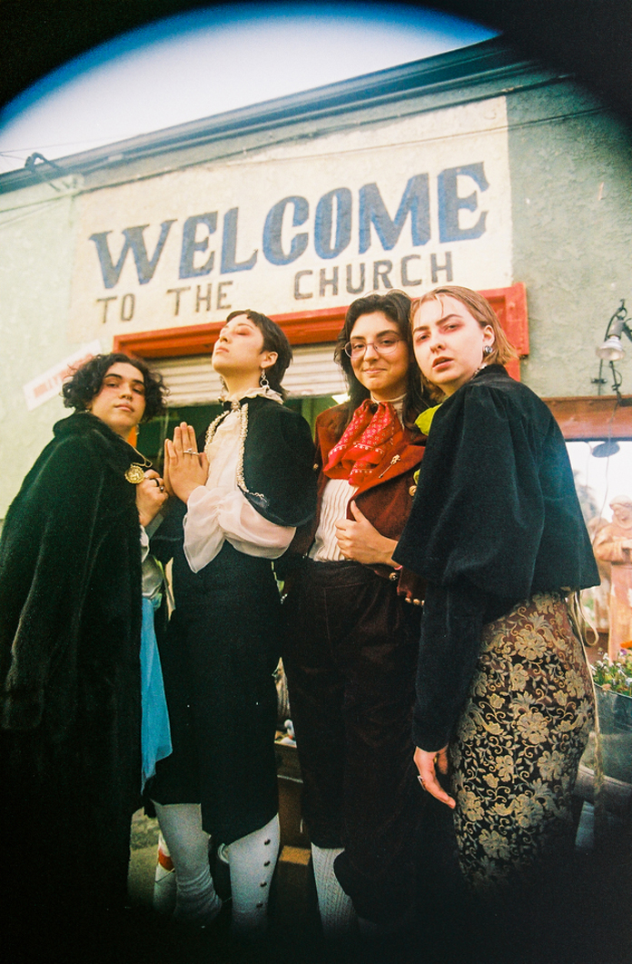 "Girl Friday on Their Debut Album ""Androgynous Mary"""