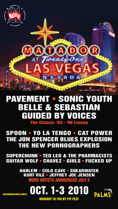 Matador Records' 21st Birthday Party in Vegas to Feature Guided By Voices Original Lineup