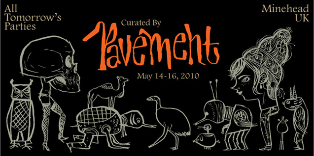 Pavement to Curate and Headline ATP In May