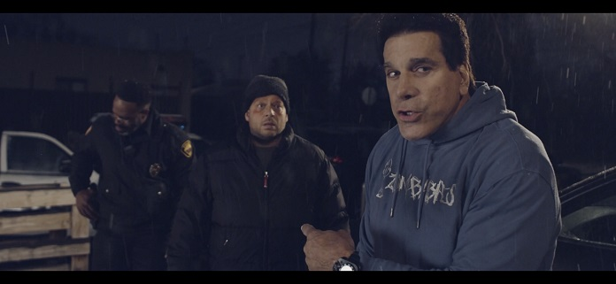 Tamas Nadas and Lou Ferrigno on the new comedy short film 'PERPS'