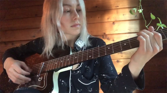 """Watch Phoebe Bridgers Cover Conor Oberst's """"Mamah Borthwick (A Sketch)"""" From Home"""
