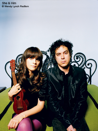 She and Him's Volume Two Due out March 2010