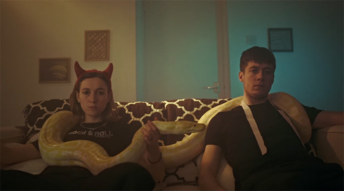 """Sorry Share Video for New Song """"Snakes"""" Featuring a Giant…Snake"""