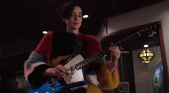 Watch St Vincent Play The Star Spangled Banner And Discuss Her Love Of Football In Nfl Ad Under The Radar Music Magazine