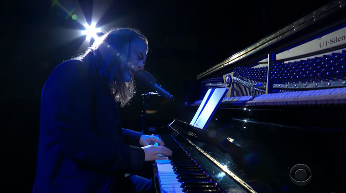 """Watch Thom Yorke Perform """"Daily Battles"""" on Solo Piano on """"The Late Show with Stephen Colbert"""""""