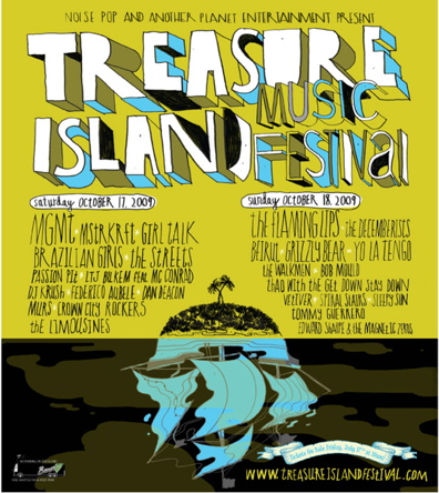The Flaming Lips and MGMT Top 3rd Annual Treasure Island Fest Lineup