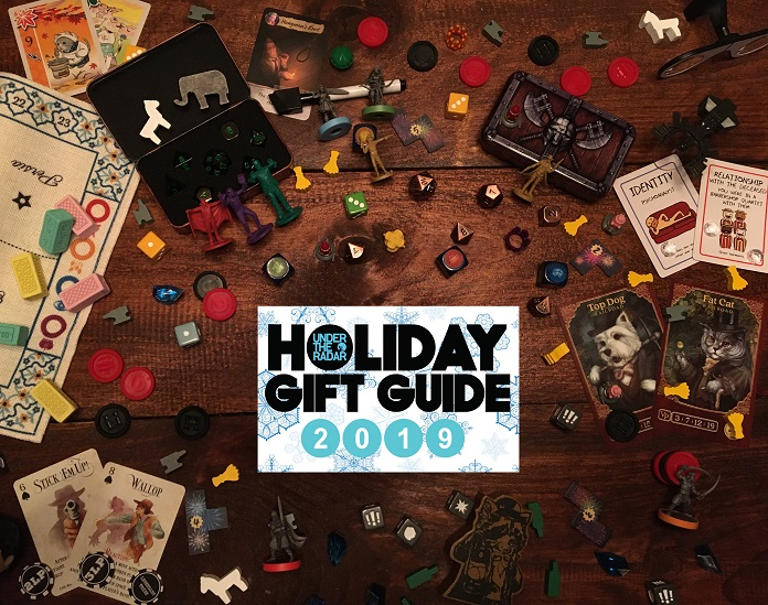 Under the Radar's Holiday Gift Guide 2019 Part 7: Tabletop & Board Games