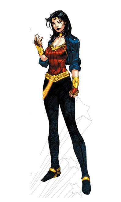 Wonder Woman Gets New Costume, New Story