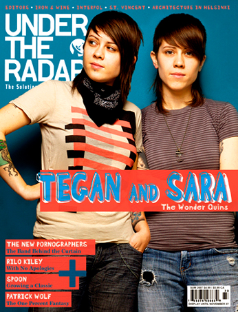 Tegan and sara on in at book set