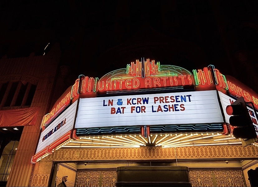 Bat For Lashes at the Theatre at the Ace Hotel