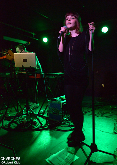 Dan Croll and CHVRCHES at Mercury Lounge 78b9edeb6