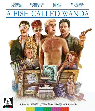 Blu ray review a fish called wanda under the radar for Fish call review