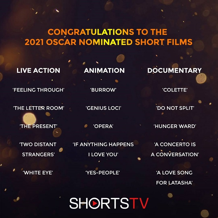 Ranked: 2021 Oscar Nominated Live Action Short Films