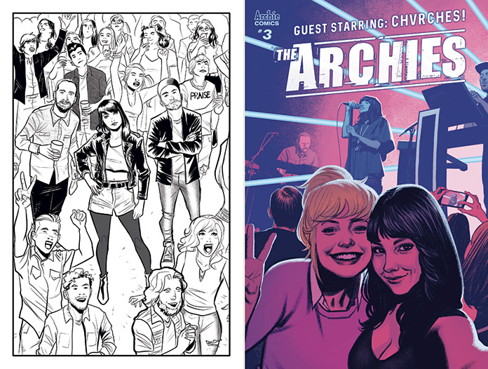 """The Archies"" - Alex Segura and Joe Eisma on the New Comic Book Series"