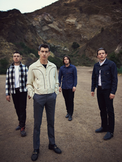 """Arctic Monkeys' Alex Turner on """"AM,"""" Working with Josh Homme, and Adapting John Cooper Clarke"""