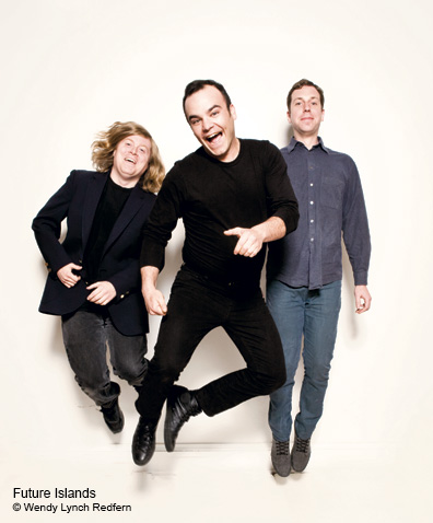 Future Islands on Their Childhoods, First Broken Hearts, The Band's Early Days, and Their Fans