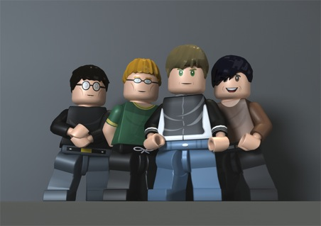 "David Bowie and Blur Become Legos In New ""Rock Band"" Video Game, Out November 3rd"