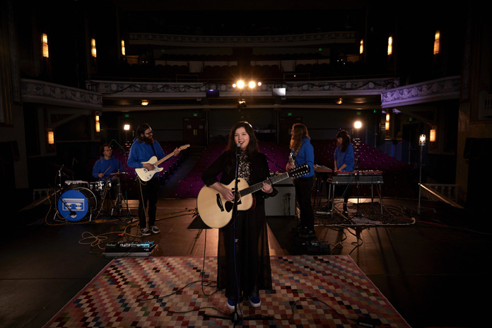 "Watch Lucy Dacus Perform ""Hot & Heavy"" on ""The Late Show with Stephen Colbert"""