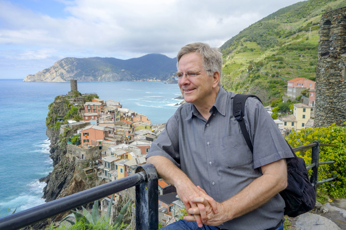 Travel Writer and TV Host Rick Steves On Publishing, Packing, Pints, and Patience