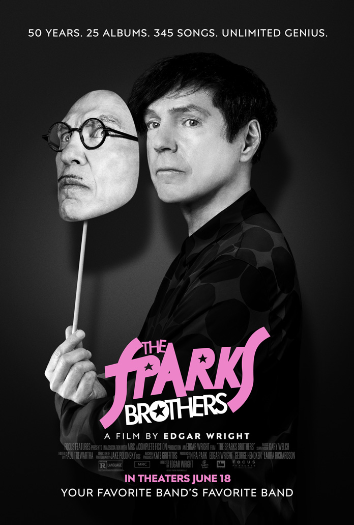 """Sparks and Edgar Wright Dissect """"The Sparks Brothers"""""""