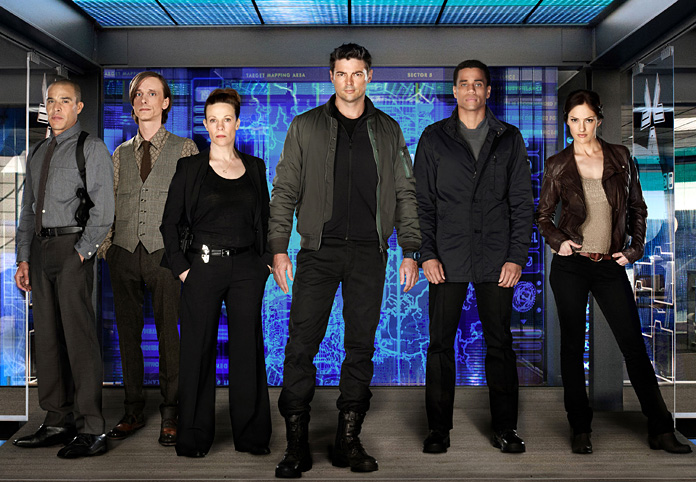 almost human review Under the Radar cast1 Review:  Almost Human (TV Series)